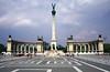 Hosok tere entrance to City Park Budapest