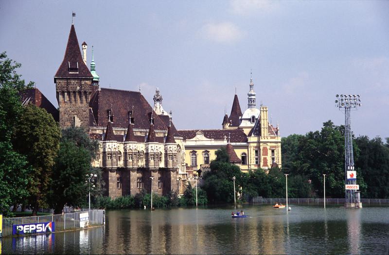 Vajdahunyad Castle at the City Park Budapest