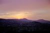 Sunset over the Buda Hills Budapest