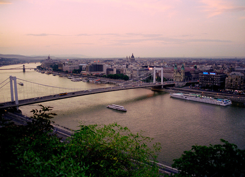Bridge over River Danube Budapest