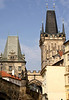 Little Quarter Bridge Towers Charles Bridge Prague