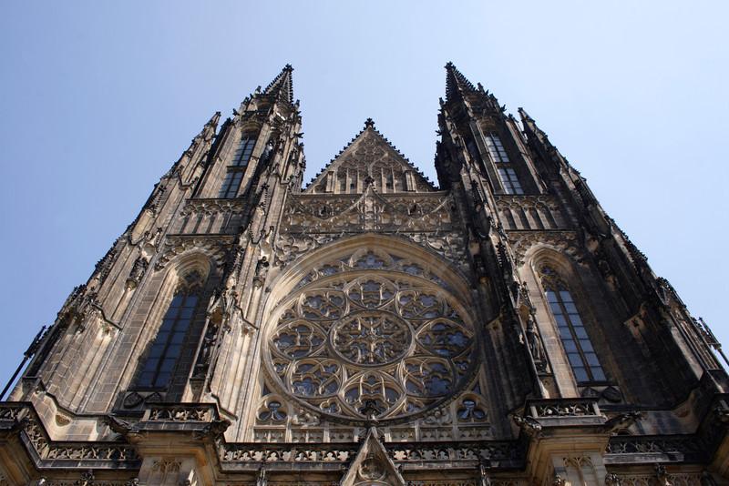 St Vitus's Cathedral Prague Castle