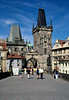 Charles Bridge Prague towards Little Quarter