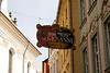 Sign for Don Giovanni Marionette Theatre Prague
