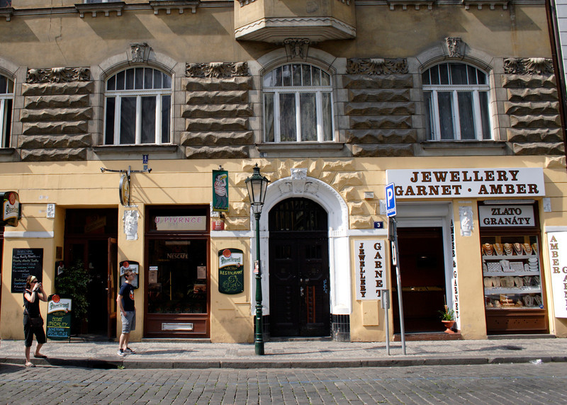 Jewellery Shop in Jewish Quarter Prague