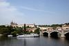 Vltava River and Prague Castle