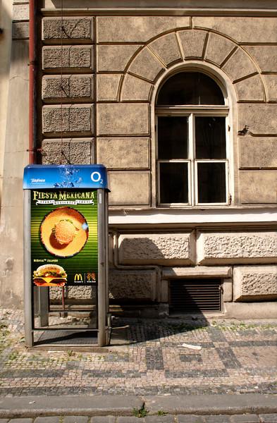 Public Phone Box Little Quarter Prague