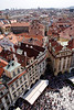 Aerial view Old Town Square Prague