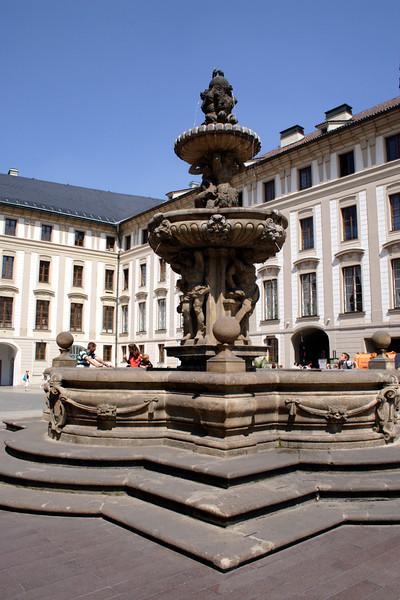 Second Courtyard Prague Castle