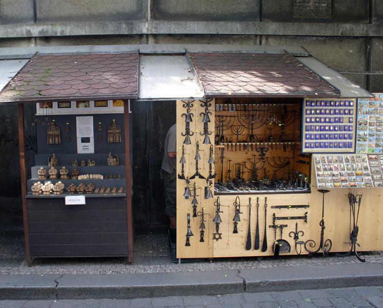 Stall near the Old Jewish Cemetery Prague