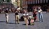 Street musicians Old Town Square Prague