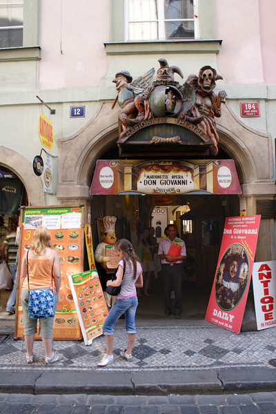 Don Giovanni Marionette Theatre Old Town Prague