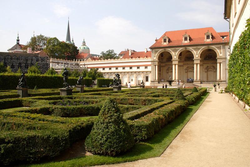Wallenstein Palace and Garden Prague