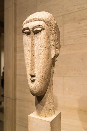Head of a Woman (Modigliani)