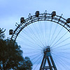 "The Ferris Wheel Made famous in the Orson Well's film ""The Third Man"" in the Prater. East of Vienna"
