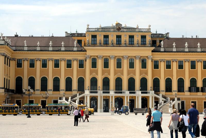 Schloss Schönbrunn, Vienna Austria. The Hapsburgs summer home (all 1400+ rooms)