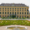 Imperial Gardens on the East side of Schloss Schönbrunn, Vienna Austria