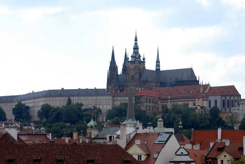 Hradcany: Prague Castle. Old town Prague, Czech Republic