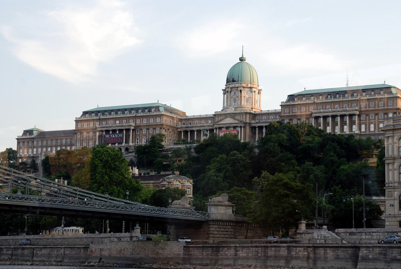 Budai Var and Magyar Namzeti Gale'ria: Buda Castle and the Hungarian National Gallery, Budapest Hungary (Buda side of the Danube)