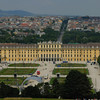 Schloss Schönbrunn, Vienna Austria from the Gloriette