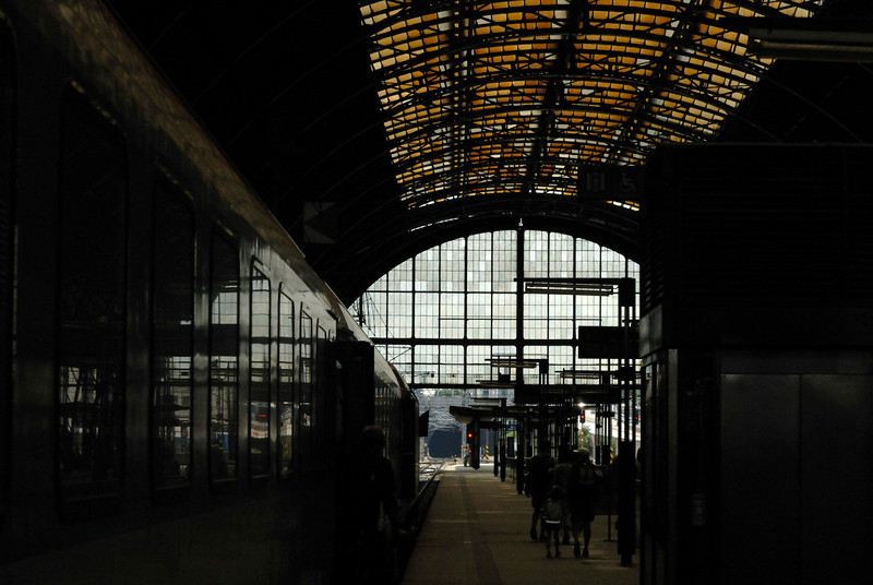 Praha Hlavni Nadr train station Praha, Czech Republic