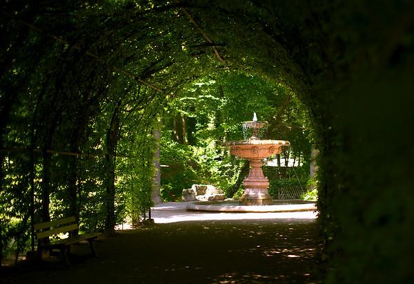 Le parc de l'orangerie - Strasbourg
