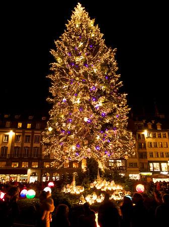 Xmas market in Strasbourg