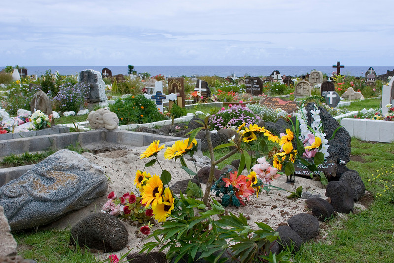 The Easter Island Cemetery