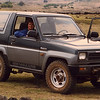 Jean and I rented this 4-wheel drive Daihatsu and toured the island alone.