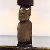 One of 887 moai on the island, at Ahu Tahai.
