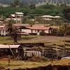 Hanga Roa, the island's only town.