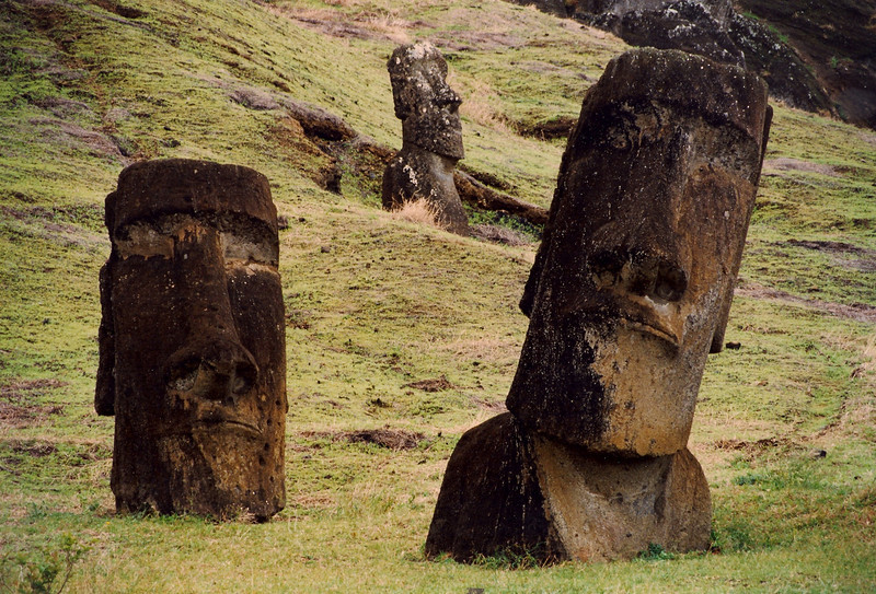 """The islanders call it Rapanui, """"the center of the world."""""""