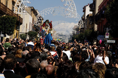 Easter Sunday procession, Ribera.