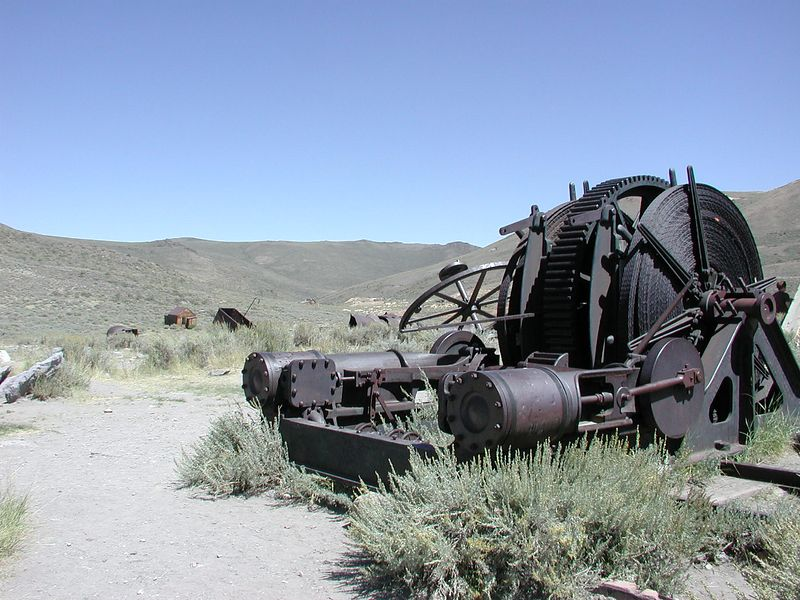 Bodie, CA - Gold Mining Ghost Town