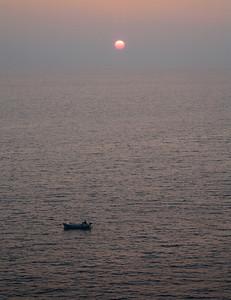 Sunset on the Adriatic, Croatia