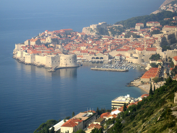 The old city of Dubrovnik