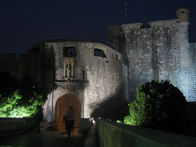 Main gate to the old city