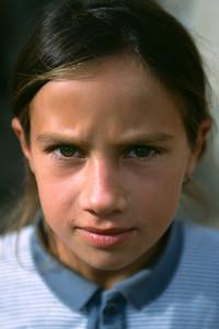 Roma child, Rasnov