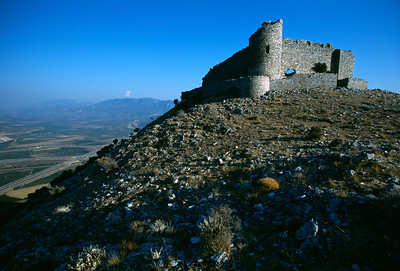 Goat Castle (unofficial). It's an old Byzantine fort near Selcuk.