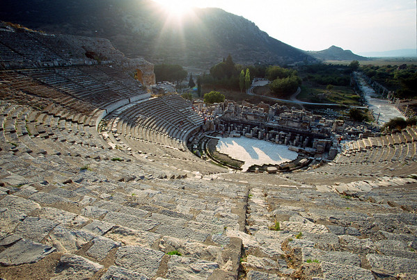 Byzantine amphitheater at Ephesus