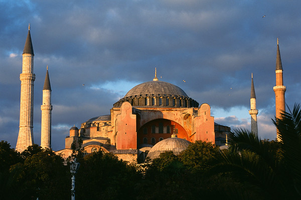 The Hagia Sophia (Santa Sophia) in Istanbul