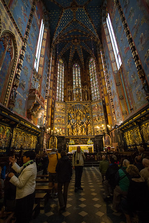 Interior -  St. Mary's Basilica