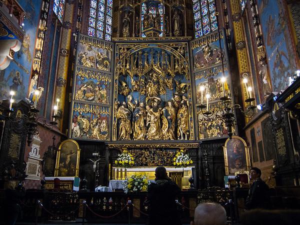 Interior -  St. Mary's Basilica