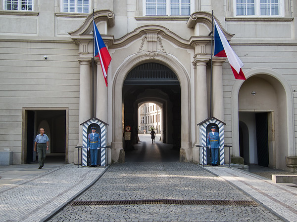 Giants' Gate at Prague Castle