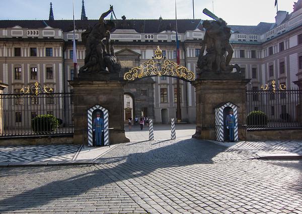 Giants' Gate at Prague Castle