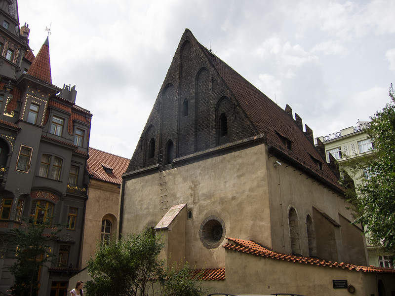The Old-New Synagogue, the oldest synagogue in Europe