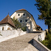 97 stairs to The Church of the Assumption. Lake Bled...Slovenia