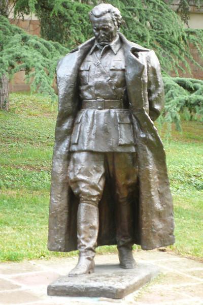 Statue of Tito in Serbia