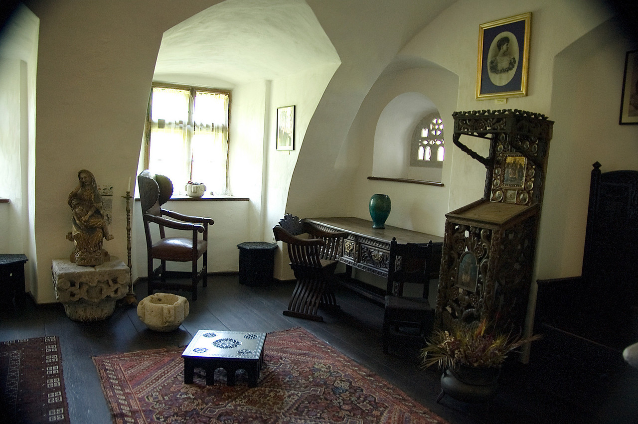 Main bedroom in Bran Castle