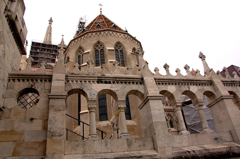 Fishermen's Bastion, Castle District, Budapest, Hungary